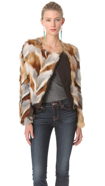 Kelly Wearstler Winston Fox Chevron Jacket