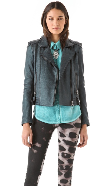 Kelly Wearstler Mercury Leather Jacket