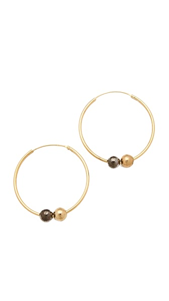 Kelly Wearstler Sphere Hoop Earrings