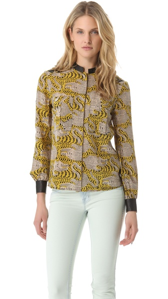 Kelly Wearstler Crouching Tiger Diego Top