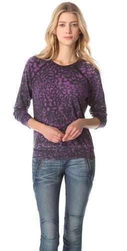 Kelly Wearstler Cheetah Sweatshirt