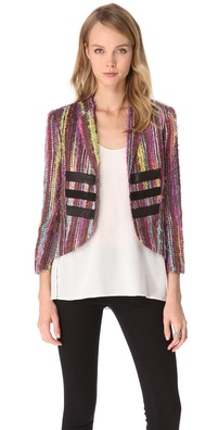 Kelly Wearstler Eyelash Tweed Jacket