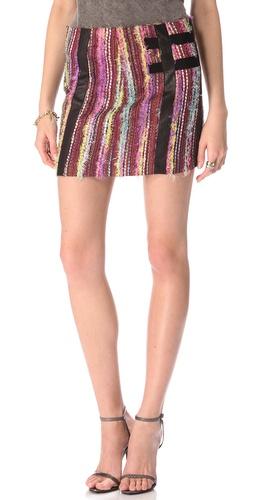 Kelly Wearstler Eyelash Tweed Skirt