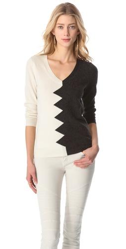 Kelly Wearstler Zigzag Sweater