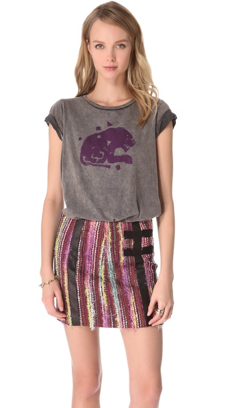 Kelly Wearstler Animal Print Sprint Tee