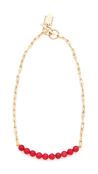 Kelly Wearstler Beaded Sphere Necklace