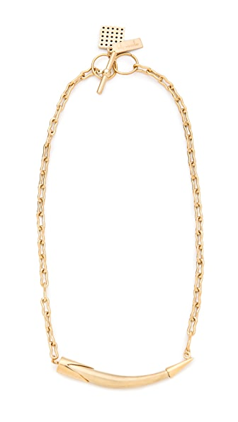 Kelly Wearstler Sideways Horn Necklace