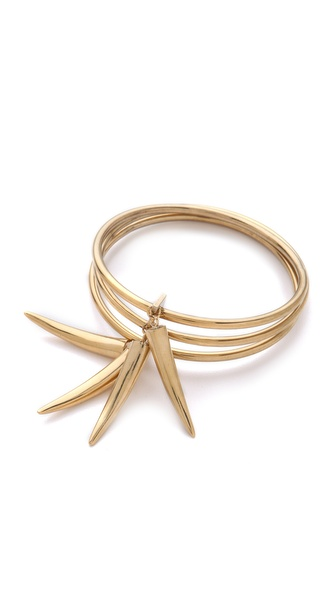 Kelly Wearstler Gold Horn Bangle