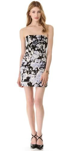 Kelly Wearstler Wind Up Strapless Dress