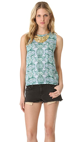 Kelly Wearstler Togo Open Back Top