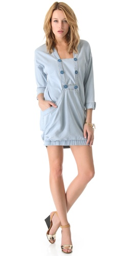 Kelly Wearstler Vintage Denim Popover Dress