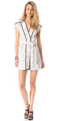 Kelly Wearstler Lurex Slub Dress