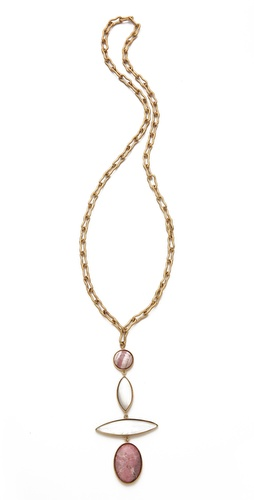 Kelly Wearstler Tiered Stone Necklace