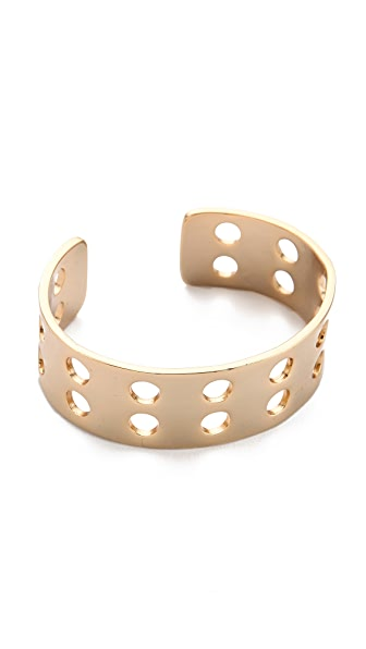 Kelly Wearstler Double Row Perforated Cuff