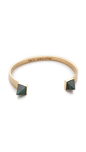 Kelly Wearstler Malachite Point Cuff