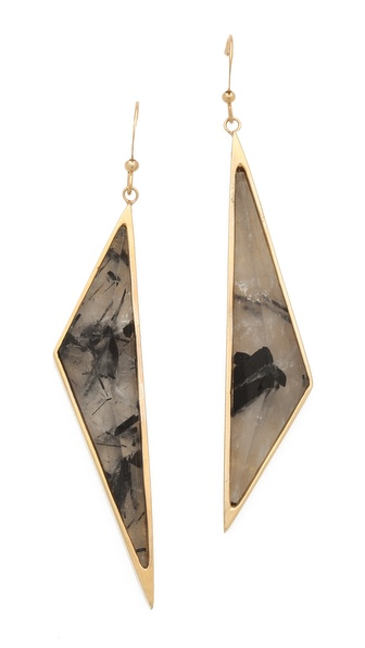 Kelly Wearstler Asymmetrical Point Earrings