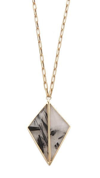 Kelly Wearstler Dual Point Pendant Necklace :  shopbop style jewelry