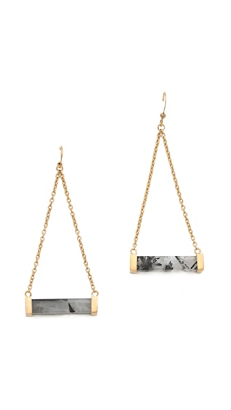 Kelly Wearstler Stone Rod Earrings