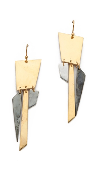 Kelly Wearstler Segmented Earrings