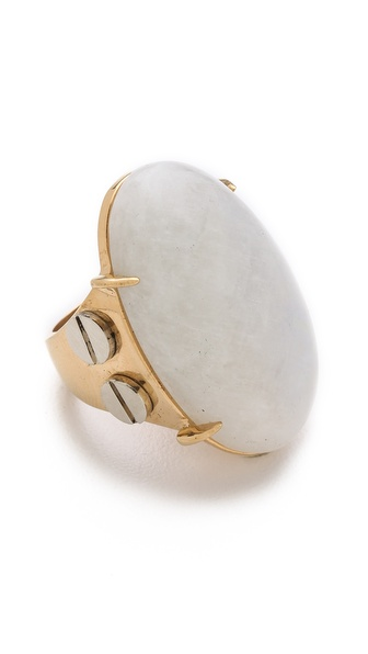Kelly Wearstler Oval Moonstone Cocktail Ring