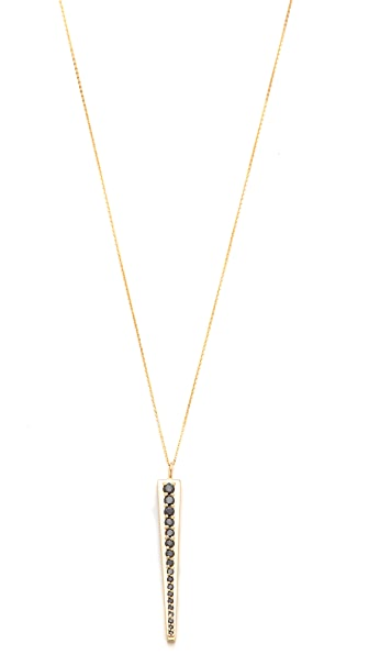 Kelly Wearstler Black Diamond Pendant Necklace