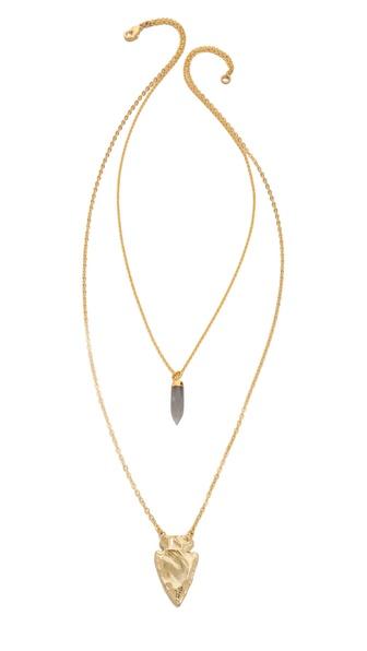 Lacey Ryan Double Pendant Necklace