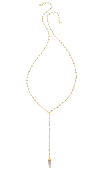 Lacey Ryan Rosary Lariat Necklace