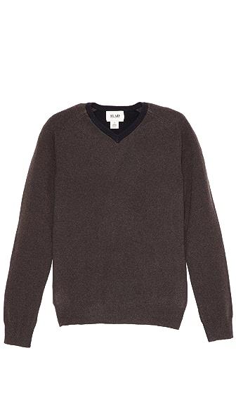 Lad Charles V Neck Sweater