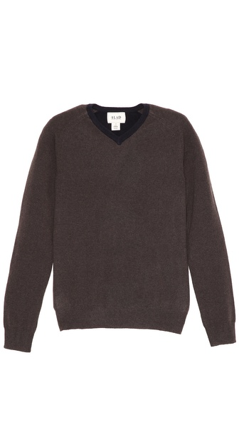 Lad Charles V Neck Sweater
