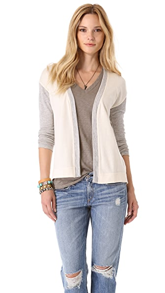The Lady & The Sailor Lightweight Terry Cardigan