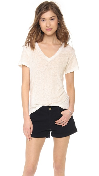 The Lady & The Sailor Basic V Neck Tee