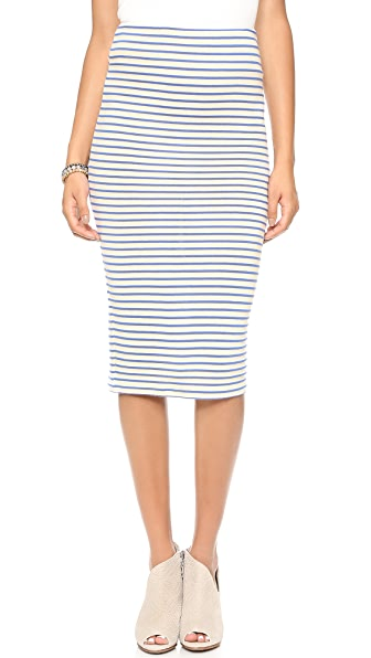 The Lady & The Sailor Pencil Skirt