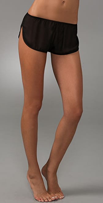 La Fee Verte Silk Chiffon Shorts