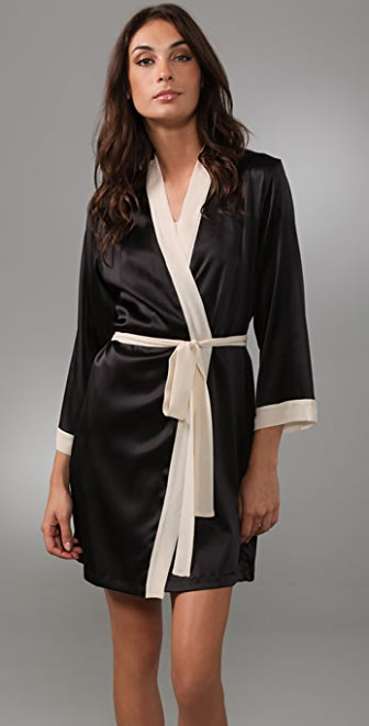 La Fee Verte Silk Kimono