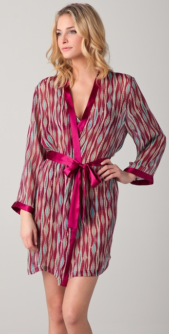 La Fee Verte Silk Tribal Robe