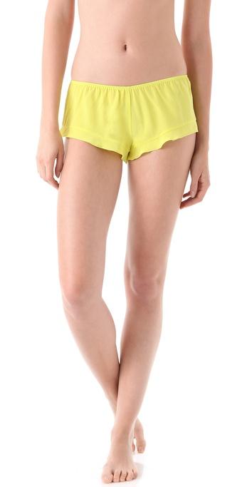 La Fee Verte Silk Crepe Boy Shorts