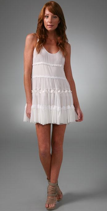 L.A.M.B. Tiered Tank Dress