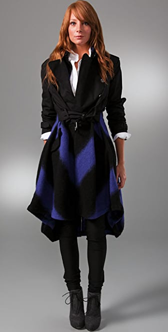 L.A.M.B. Double Breasted Tailcoat