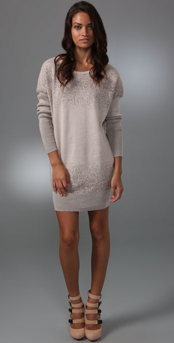 L.A.M.B. Dolman Sweater Dress