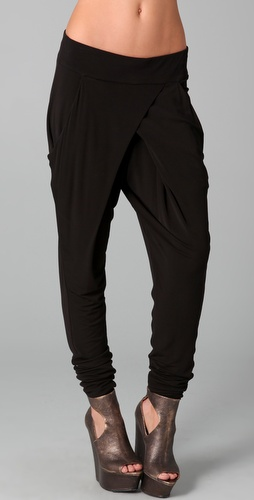L.A.M.B. Cross Front Pants