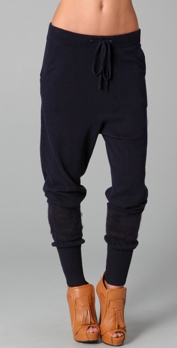 L.A.M.B. Drawstring Knit Pants