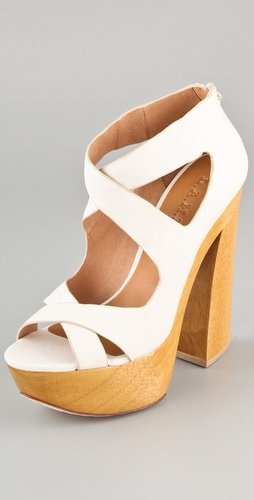 L.A.M.B. Minny Platform Sandals