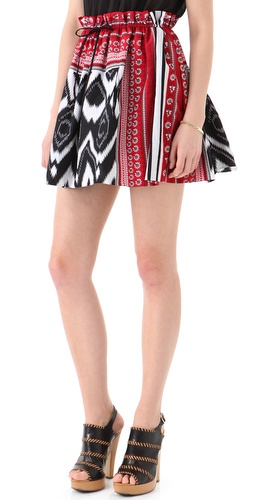 L.A.M.B. Print Skirt