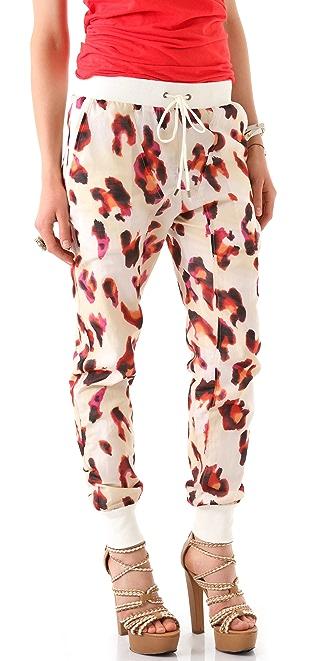 L.A.M.B. Leopard Print Pants