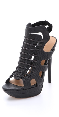 L.A.M.B. Ibbie Platform Sandals