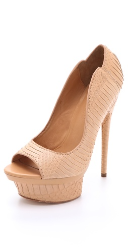L.A.M.B. Idna Platform Pumps
