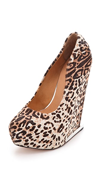 L.A.M.B. Dorothee Haircalf Wedges