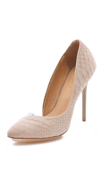 L.A.M.B. Harlie II Suede Pumps