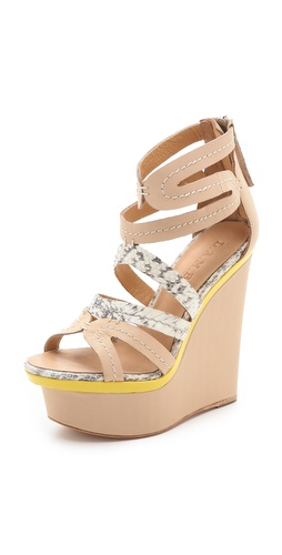 Shop L.A.M.B. Jenelle Wedge Sandals and L.A.M.B. online - Footwear,Womens,Footwear,Sandals, online Store
