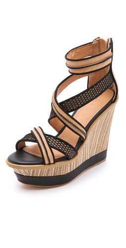 Shop L.A.M.B. Carrera Wedge Sandals and L.A.M.B. online - Footwear,Womens,Footwear,Sandals, online Store